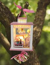 LANTERNA Casa delle Bambole Miniatura FAI DA TE KIT Handcraft progetto Luci & Stand da appendere