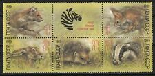 RUSSIA, USSR:1989 SC#B152-56(5) MNH - Zoo Relief Type of 1988