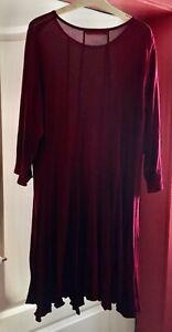 Privatsachen ,Tunika/Kleid, dunkles rot,cocon commerz