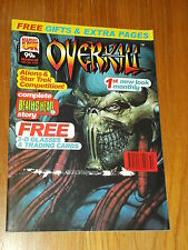 OVERKILL #43 MARVEL BRITISH MAGAZINE 15 DECEMBER 1993 DEATHS HEAD II NEW LOOK^