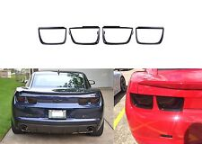 4pc AnzoUSA ANZ351002 Gloss Black Taillight Bezel for Camaro New Free Shipping