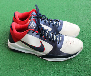 Nike Zoom Kobe 5  USA 2010 Basketball Shoes/Sneakers 386429-103 Men's  Size 13