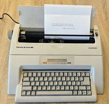 ✔ Olympia Carrera de Luxe MD | Schreibmaschine mit Speicher | Rarität | Display