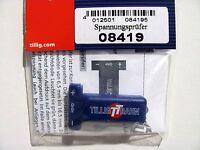 Tillig 08419 Spannungsprüfer für Spur H0 und Spur TT NEUWARE mit OVP