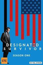 Designated Survivor : Season 1 (DVD, 2017, 6-Disc Set)
