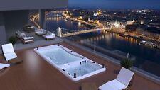Swimspa Whirlpool 587 x 230 x 150 cm Made in EU Wellis Rio Grande Swim Spa Pool