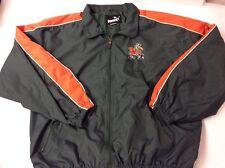 Vintage Miami Hurricanes Windbreaker Jacket Size Large Clothing NCAA Style 90s