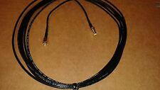 US MADE 15 ft  RG-174  SMA Male to SMA Female  (50 ohm)Coax  Cable