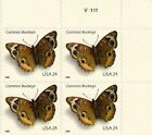2006 COMMON BUCKEYE MNH Plate Block 4 x 24¢ Self-Adhesive Stamps #4001 Butterfly