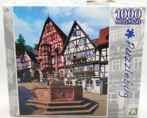 Puzzlebug Bavaria Market Square, Germany Puzzle Landscape Villiage Bavarian