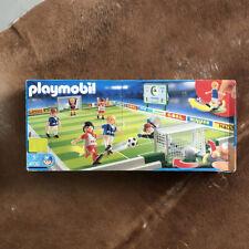 PLAYMOBIL Terrain / Match de football, ref 4700