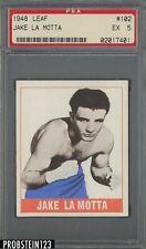 1948 Leaf Boxing #102 Jake La Motta PSA 5 EX