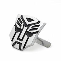 3D Transformer Car 20TH Anniversary Front Grille Grill Badge Emblem Decals CH B5