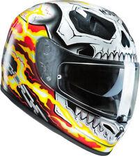 Casco Helmet HJC  HJC FGST FG-ST MARVEL GHOST RIDER MC1  TG. M