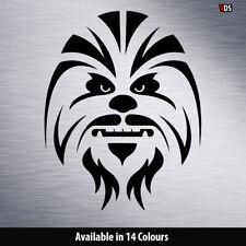 Star Wars Chewbacca Vinilo Autoadhesivo Con Ventana Del Ordenador Portátil Coche Pared Arte 4x4 Parachoques