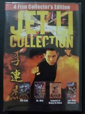 The Jet Li Collection (2-Dvd Set 2005) Evil Cult Dr. Wai Legend Kung Fu Hero New