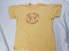 Vintage ANIMAL LIBERATION FRONT ACTIVISM  ALF 70S SHIRT