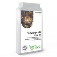 Ashwaganda Capsules x 90 KSM-66 500mg, Vegan, Made in the UK, Ayurveda