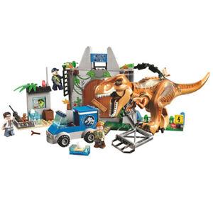 Building Toys Dinosaur Rex Tyrannosaurus Jurassic World Park Boys gift