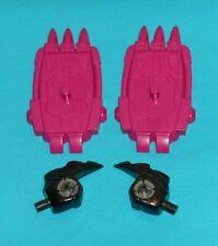 original G1 Transformers PIRANACON PARTS LOT #29 r+l fist & r+l foot feet