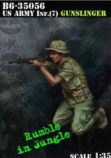 1/35 Scala guerra del Vietnam US Army Fanteria (7) - Gunfighter,