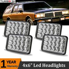 "4x6"" Led Headlight Sealed Beam Head Lamp HID Kit Pontiac Firebird J2000 6000..."