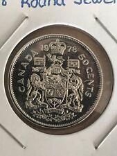 1978 round jewel 50 cents BU UNC