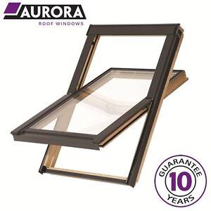 Aurora Roof Window 78 x 92 cm (Fakro style) Loft Rooflight Skylight Inc.Flashing