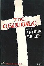 RARE 1973 ARTHUR MILLER + BELLE DÉDICACE AUTOGRAPHE SIGNÉE : THE CRUCIBLE