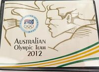 .2012 AUSTRALIAN OLYMPIC TEAM $1 5 COIN SET IN ORIGINAL FOLDER.
