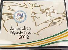 2012 AUSTRALIAN OLYMPIC TEAM $1 5 COIN SET IN ORIGINAL FOLDER.