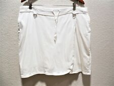 Womens Plus Size 14/16 Clothes White Skort Golf Sports Skirt/Shorts EUC Avenue