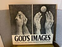 GOD'S IMAGES by James Dickey & Marvin Hayes 1st EDITION 1977 & Hayes Print