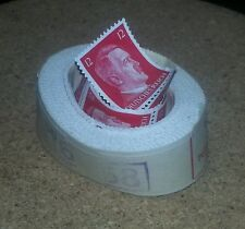 1943 Hitler roll of 12 p stamps with wrapper