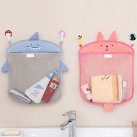 Shower Eco-Friendly Bath Tub Toy Bag Suction Cup Mesh Bathroom Hanging Net
