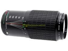 Pentax Takumar-A zoom 70/200mm. f4, innesto a baionetta Pentax K.
