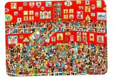"Where's Wally? novelty postcard. ""The Great Portrait Exhibition"""