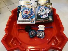 2 set Beyblade Burst and stadium arena set toy