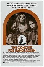 Concert for Bangladesh POSTER Eric Clapton George Harrison Bob Dylan Live