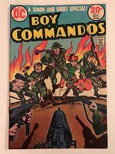 Old D.C. Comic Boy Commandos #1 (Sep-Oct 1973, DC)