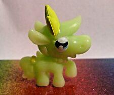 Moshi Monsters Halloween #48 PRISCILLA Green Moshling Mini Figure Mint OOP