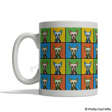Chinese Crested Dog Mug - Cartoon Pop-Art Coffee Tea Cup 11oz Ceramic