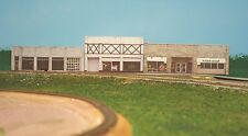 HO scale WEST COLUMBUS background building flat