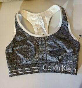 Calvin Klein Performance Women's X-Small Gray Sports Bra