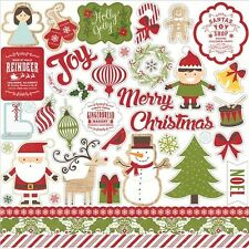 Echo Park Paper I Love Christmas Cardstock Stickers - 435426