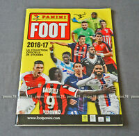 """RARE !!! COMPLETE Album """"FRENCH FOOT 2016-2017"""" With MBAPPE ROOKIE PANINI"""