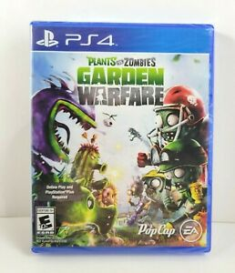 Plants vs Zombies GARDEN WARFARE - PlayStation 4 PS4 Pop Cap EA vs. NEW SEALED!