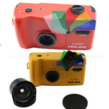 Holga K200N K200 N 35mm 135mm Fisheye Lens Color Flash lomography Film Camera