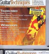 TOTO / STEVE MORSE / VAN HALEN CD GUITAR TECHNIQUES 83 2003