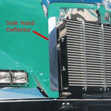 Kenworth T800 Stainless Steel Side Hood Deflector